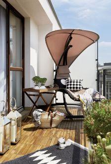 pomysł na nowoczesny balkon