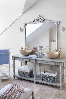 styl prowansalski dekoracje do łazienki