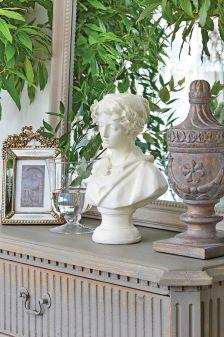 dekoracje do salonu w stylu francuskim