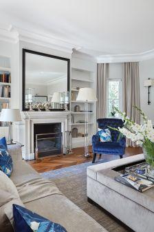 salon w stylu klasycznym