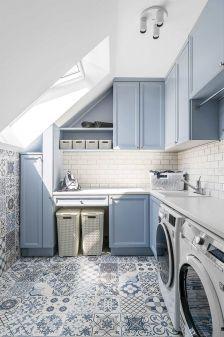 styl nowoczesny łazienka z mozaiką