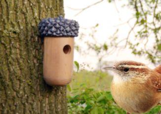 Domek dla ptaków w kształcie żołędzia Esschert design