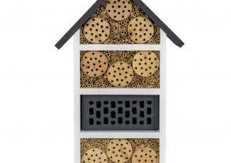 Domek dla owadów średni antracyt