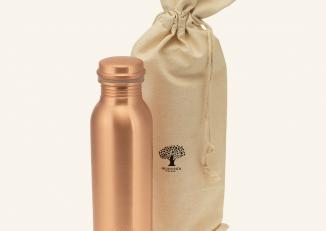 Butelka Miedziana premium 500 ml Satyna Mat