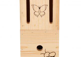 Domek dla owadów pożytecznych biedronka 4w1
