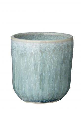Ceramiczny kubek do kawy czarka Jazzy Aqua