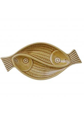 Ceramiczny półmisek ryby