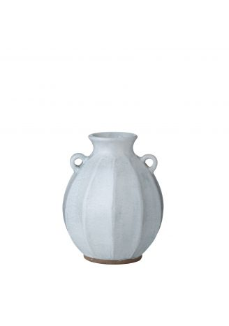 Ceramiczny wazon niebieski