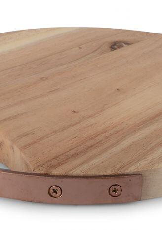 Deska do krojenia okrągła akacja