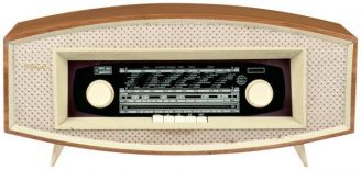 Odbiornik radiowy Ramona , projektu Jana Kowalczyka, producent – Zakłady Radiowe Diora w Dzierżonowie, 1964 r.,