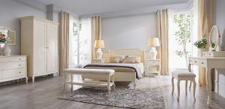Kremowa sypialnia od ADB Furniture. Sypialnia w kremowych kolorach od ADB Furniture