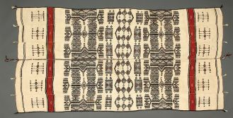 Tkanina z wielbłądziej wełny, Afryka Zachodnia