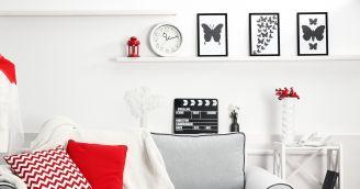 ozdoby na ścianę do salonu