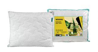 Poduszka z aloesem zapobiega rozwojowi bakterii i grzybów w pościeli, przyjazna dla alergików, wendre.pl