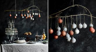 Świąteczne wnętrza w 3 kolorach, czyli zimowe inspiracje od Annie Sloan