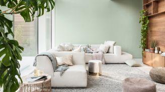 modne kolory ścian salon