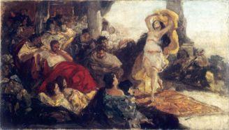 Maurycy Gottlieb Taniec Salome , 1879 r., Muzeum Narodowe w Kielcach