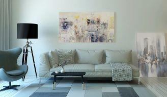 najlepsze pomysły na dekoracje ścian do salonu