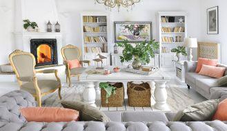 jak urządzić przytulny biały dom