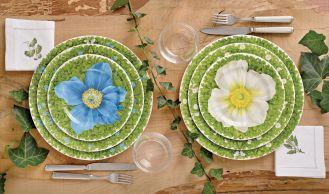 Dodatki do wnętrz: tropikalne rośliny i kwiaty