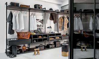 Garderoba nieźle ułożona