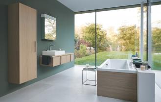 Kolekcja mebli łazienkowych Vero firmy Duravit.