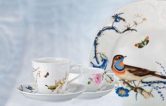 Porcelana w kwiaty: niezwykła kolekcja Maria Róża Rosenthal
