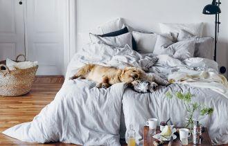 Pościel lniana, Lovely Linen. Jak stworzyć sypialnię idealną?