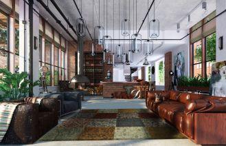 Podłoga w stylu vintage, dywany do każdego wnętrza