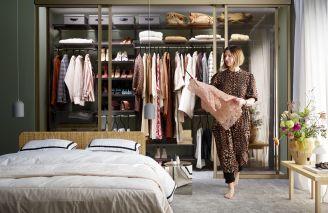 jak zaprojektować idealną garderobę