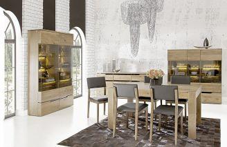 Drewniane meble do nowoczesnych wnętrz