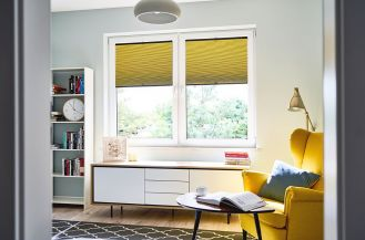 Żaluzja plisowana – modna dekoracja okna i skuteczna ochrona przed słońcem