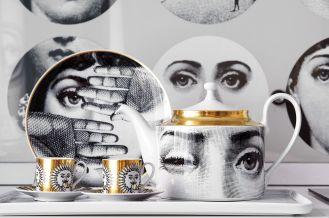Kolekcjoner porcelany z twarzą włoskiej diwy