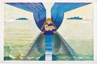 kartka wielkanocna anioł
