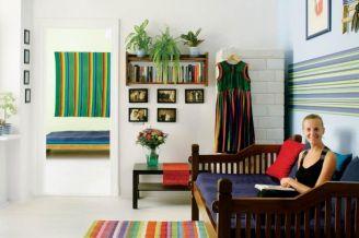 Paula Jaszczyk w swoim kolorowym domu.