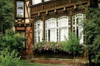 Ryglowa willa w szwajcarskim stylu.