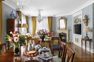 styl klasyczny salon