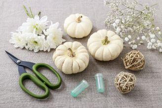 jak zrobić dekorację z dyni