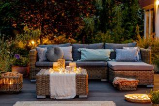 jak ozdobić balkon jesienią