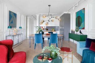 salon w stylu nowoczesnym aranżacja