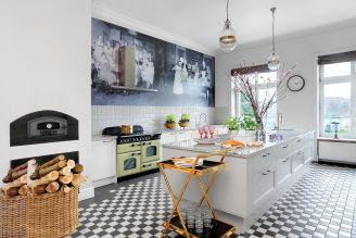 kuchnia w stylu retro zdjęcia