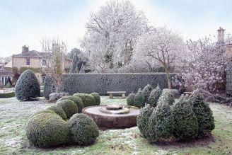 Ogród w stylu angielskim stworzyła Karen Watson.