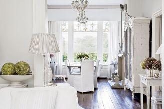 Białe jest piękne, dom w stylu shabby chic