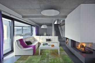 Salon ze stolikiem LAGERFORM. Zdjęcie: Piotr Gęsicki