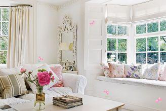 Wzory można malować na ścianach, meblach, oknach.