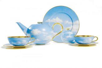 Zastawę Ciel Bleu Still bracia Siegerowie zaprojektowali dla Rosenthala.