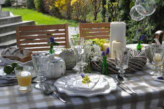 Wiosenne przyjęcie w ogrodzie