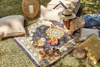 piknik w ogrodzie