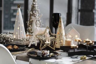 ozdoby bożonarodzeniowe  stół