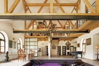Dom ma być praktyczny, trzeba mieć przestrzeń – uważają gospodarze.